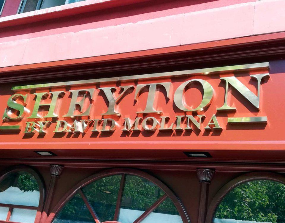 sheyton , roide , rótulos , volumen , lleida , letras doradas , acero , metalicas , bronce , personalizadas