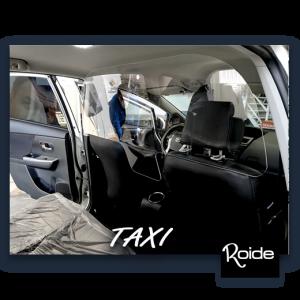 mamapara , protección , taxi , antivirus , coronavirus , instalación , Lleida , Roide ,
