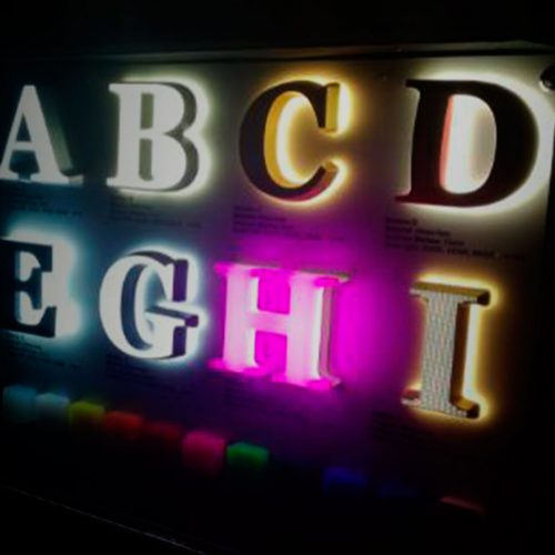 rotulos , luminosos , luces , lleida, roide ,