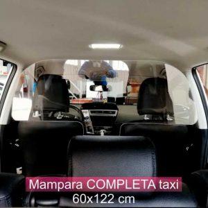 mampara , completa , taxis , Roide , antivirus , Lleida, protección ,