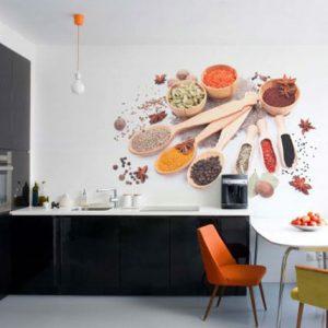 Decoración vinilo para cocinas y restaurantes