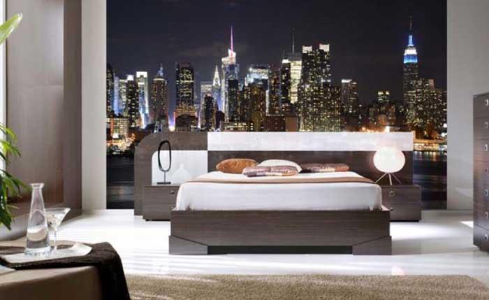 new york night vinilo decorativo