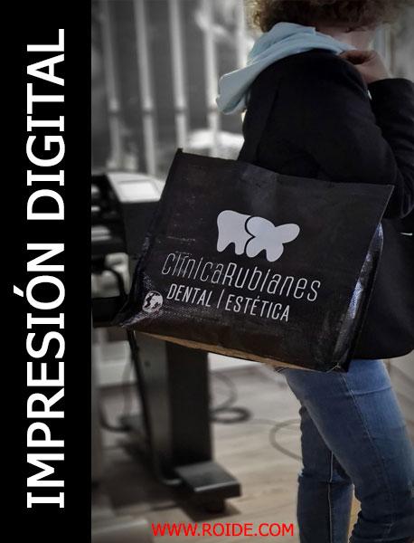 impresión de bolsas para la compra Roide