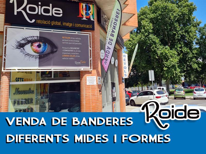 Donde comprar banderas personalizadas en Lleida