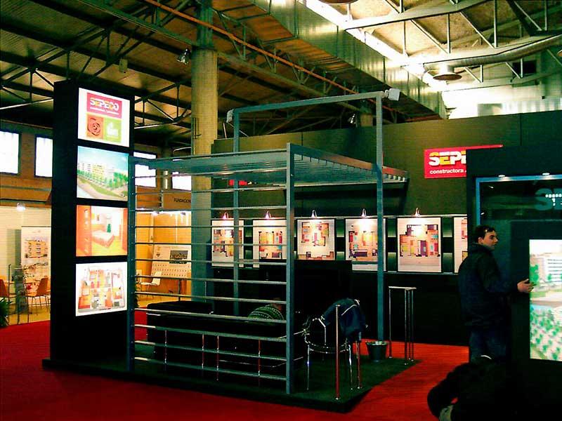 Empresa de montajes de stands en Lleida Roide
