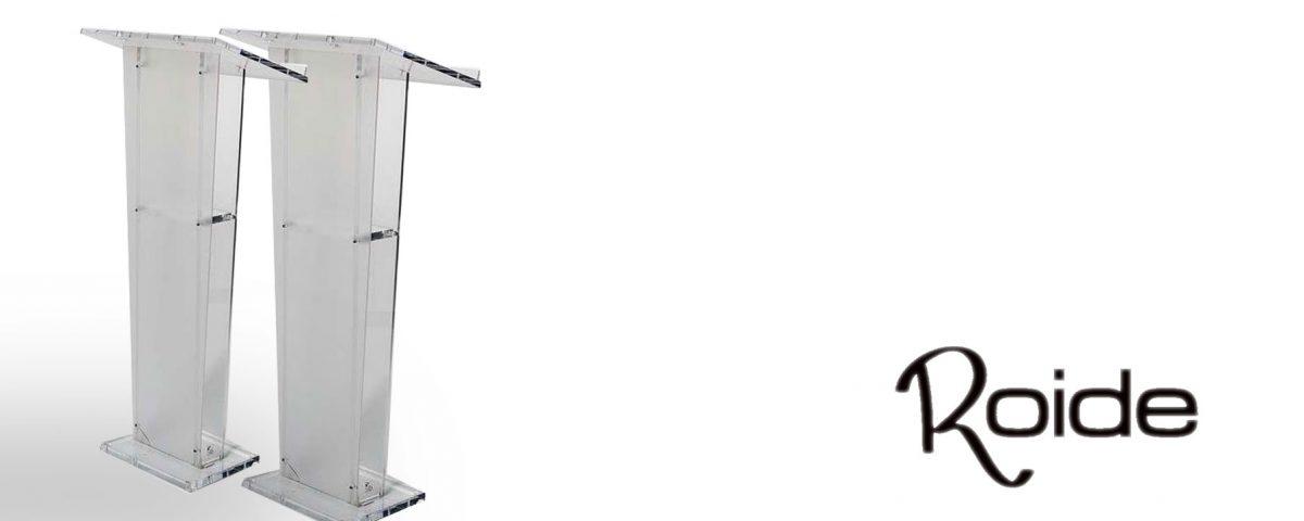 comprar atril para conferencias y eventos en Lleida